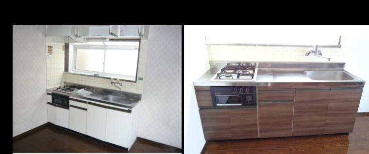 千葉県柏市内装キッチン